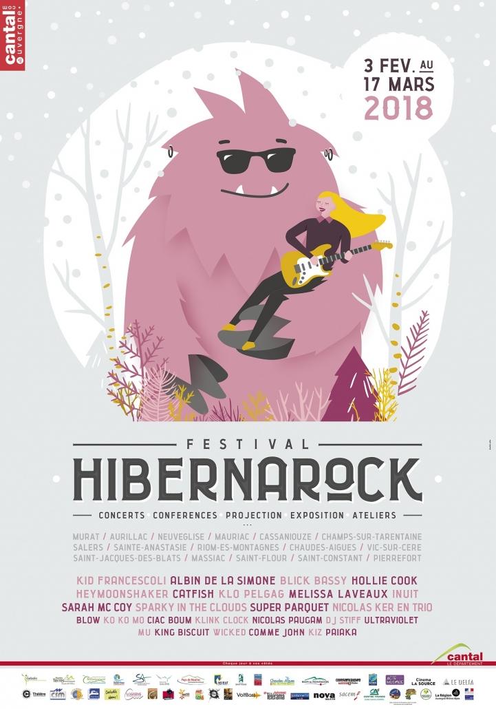 Consultez le programme Hibernarock 2018