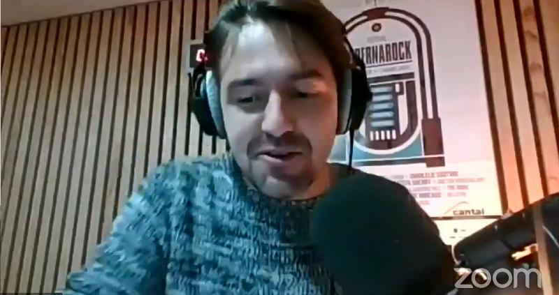 Benoit Bouscarel coanimateur des webinaires Hibernarock